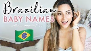 Baixar PRONOUNCING BRAZILIAN BABY NAMES | English and Portuguese Baby Names Pronunciation | Ysis Lorenna