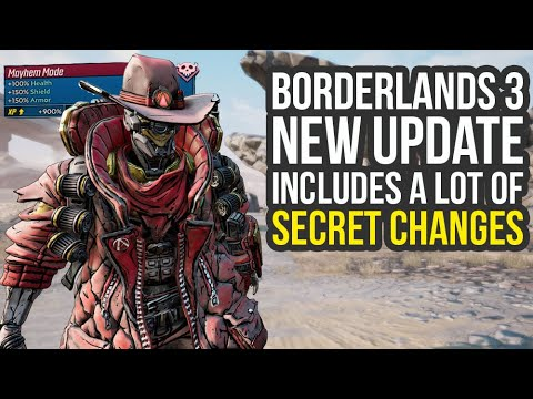 Borderlands 3 Update SECRETLY Removes XP Farm & Way More (BL3 Update) thumbnail