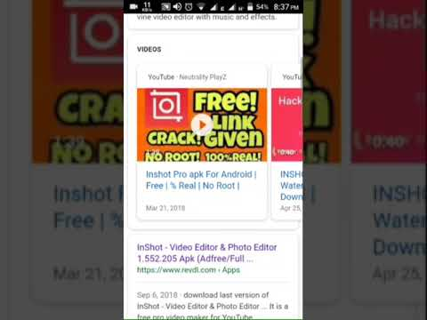 How to download inshot pro🔥🔥 (mod) apk free for android🤑🍷📣