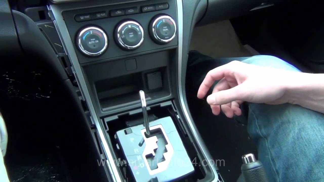 Mazda 6 Remove Stock Radio System Youtube