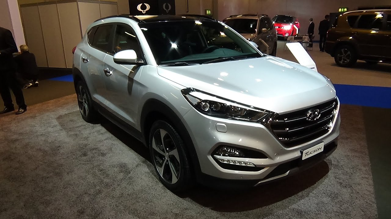 Hyundai tucson 4 wd