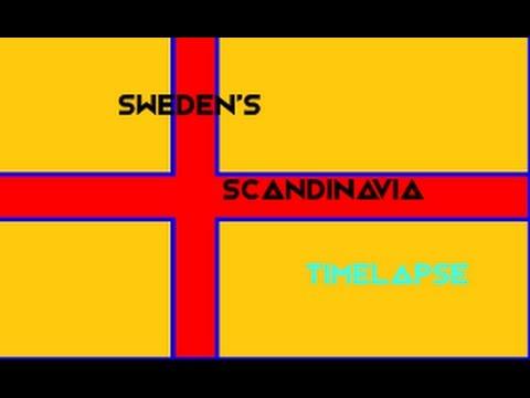 EUIV- Sweden's Scandinavia Timelapse