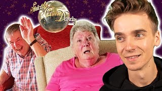 GRANDPARENTS' REACTION TO ME ON STRICTLY!