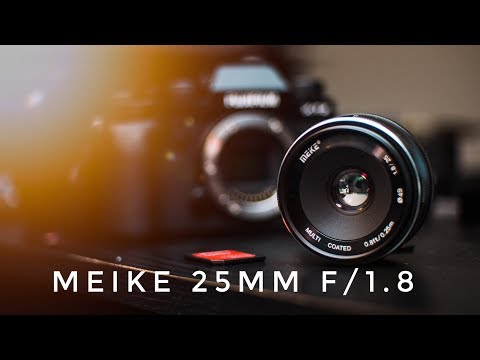 CHEAP Fujifilm 35mm lens | MEIKE 25mm f/1.8 review