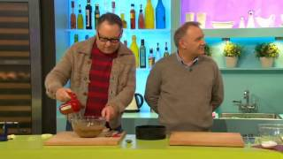 Vic and Bob on Sunday Brunch: Baking a cake