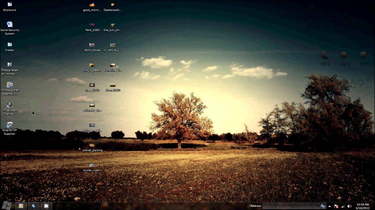 Full Hd Nature Wallpaper For Windows 1080p Wallpaper Youtube