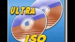حرق الملفات على اسطوانة بواسطة الترا ايزو UltraISO