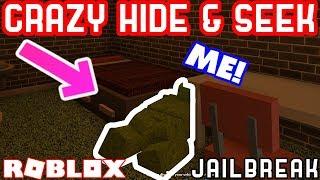 EXTREME DISGUISES! - Roblox Jailbreak Hide and Seek Ft. MyUsernamesThis JoeyDaPlayer and Deejus