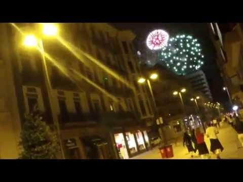 San Fermín 2014 [20]: Dirección a la ciudadela para ver los fuegos artificiales de la noche