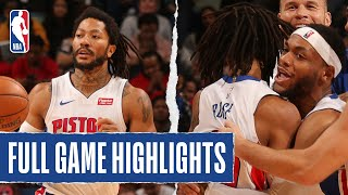 PISTONS at PELICANS | FULL GAME HIGHLIGHTS | December 9, 2019