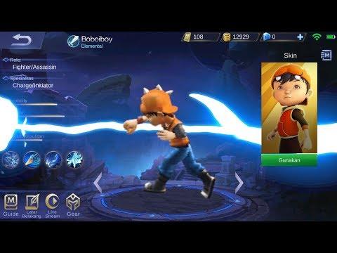 ASIK! Edit Boboiboy Jadi Hero Mobile Legends Keren