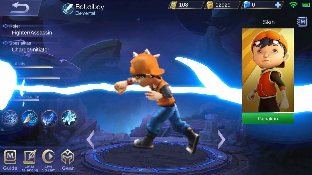 ASIK Edit Boboiboy Jadi Hero Mobile Legends Keren