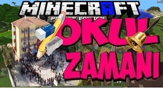OKUL ZAMANI -OKULDAN KAÇIŞ ( Minecraft Pe  #8)
