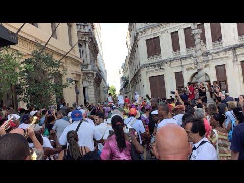 Parade in Old Havana