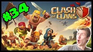 Clash of Clans #34 - PeNu útok! | SK Let's play | HD