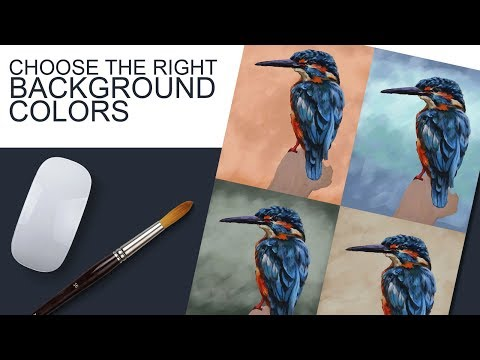 Choose the Right Background Color for Your Paintings - Experiment to Find What Works