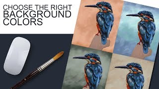 الحق في اختيار لون الخلفية الخاصة بك لوحات - التجربة للعثور على ما يعمل