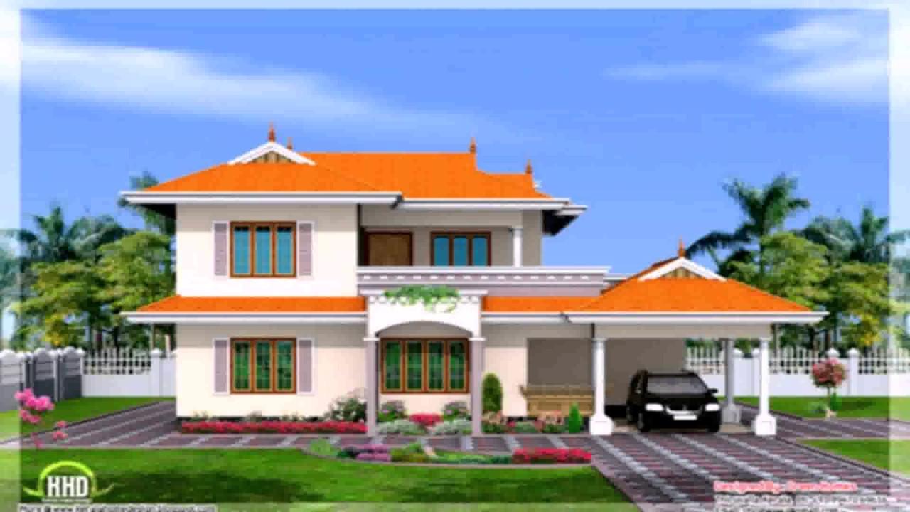 Indian House Design Single Floor  Youtube