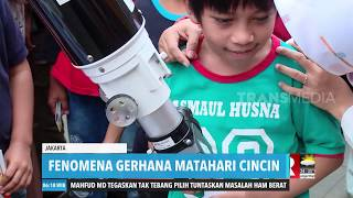 Fenomena Gerhana Matahari Cincin | REDAKSI PAGI (27/12/19)