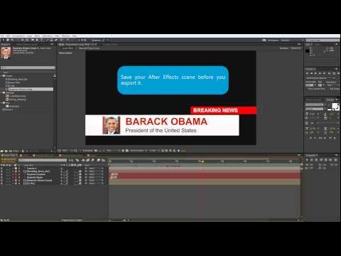 Orad's After Effects Plugin for 3Designer