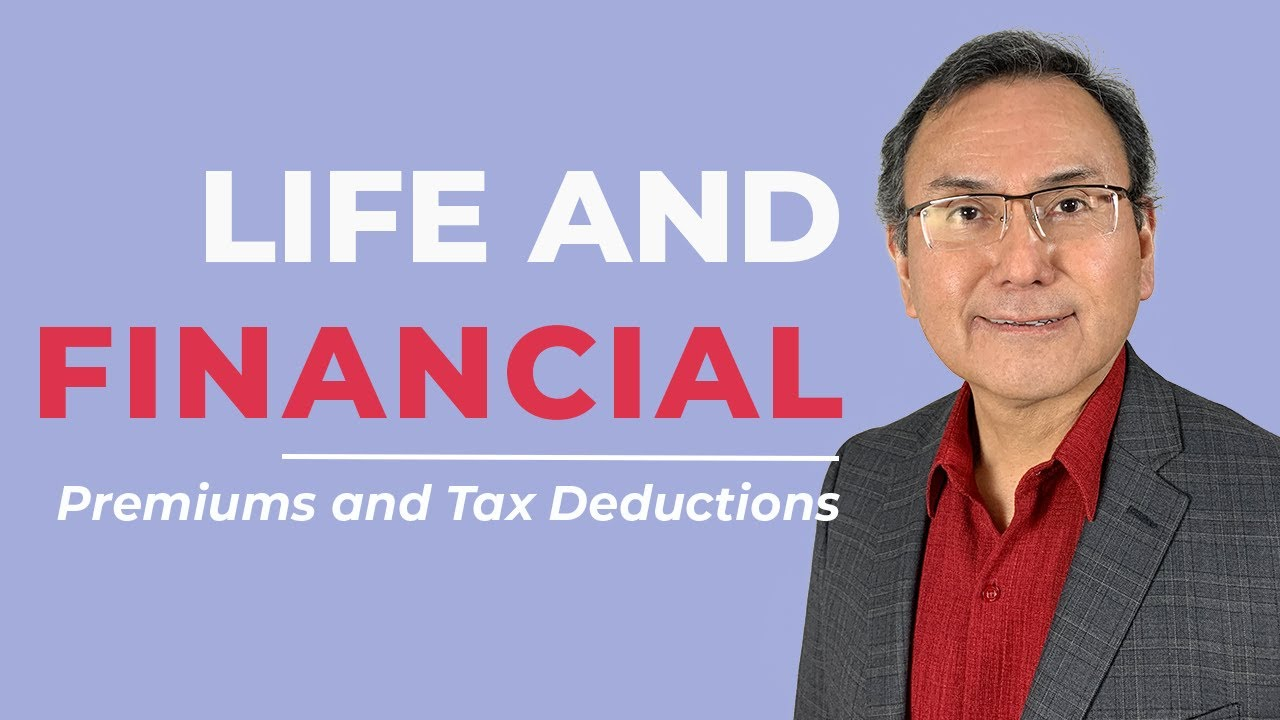 Are my life insurance premiums tax deductible - YouTube