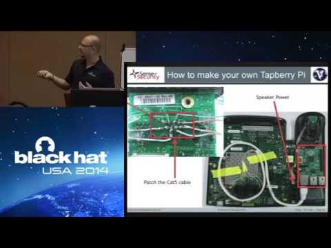 Black Hat USA 2014 - Network: VoIP Wars Attack of the Cisco Phones