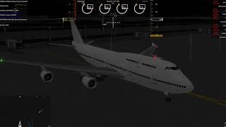 Playing Flightline! FLIGHTLINE - Roblox (With someone else)