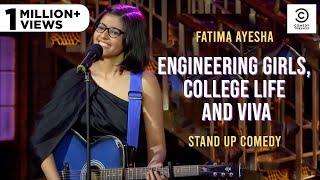Engineering girls, college life and viva | Standup Comedy by Fatima Ayesha