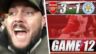 Download Video Arsenal 3 vs 1 Leicester - Özil Was World Class Tonight - Matchday Vlog MP3 3GP MP4