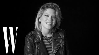 Lea Seydoux on Blue is the Warmest Color, Love Scenes, and Marlon Brando | Screen Tests | W magazine