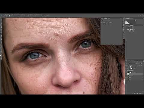 Ретушь портрета в Adobe Photoshop