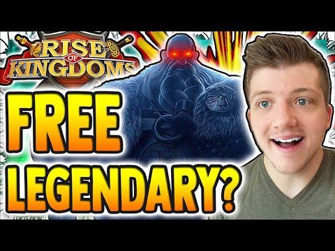 Rise of Kingdoms FREE LEGENDARY & EPIC Commander?! New VIKING Civilization Coming SOON?