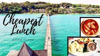 CHEAPEST LUNCH in a Luxury Resort   Turi Beach Resort   Batam Island   Indonesia