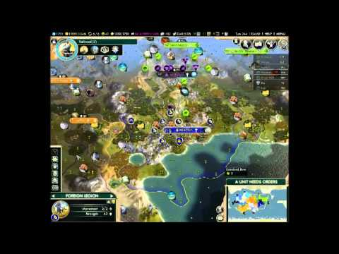 Civilization V BNW - Sweden OCC - Information and a distracted review