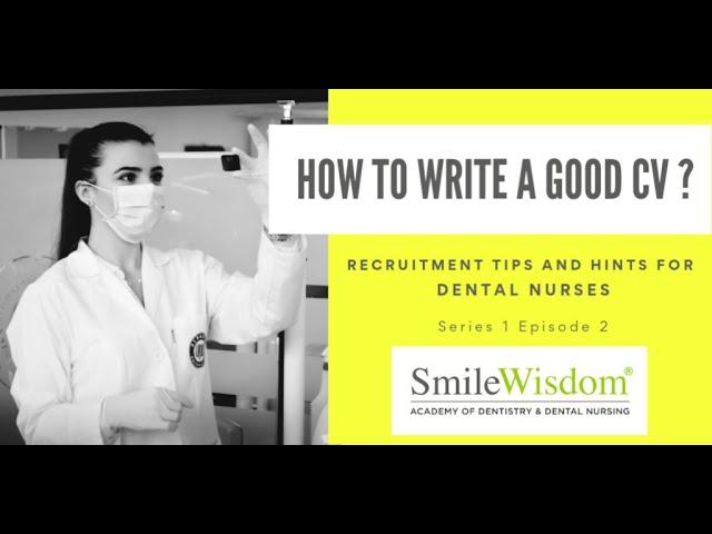 S1E2: How to write a good CV?