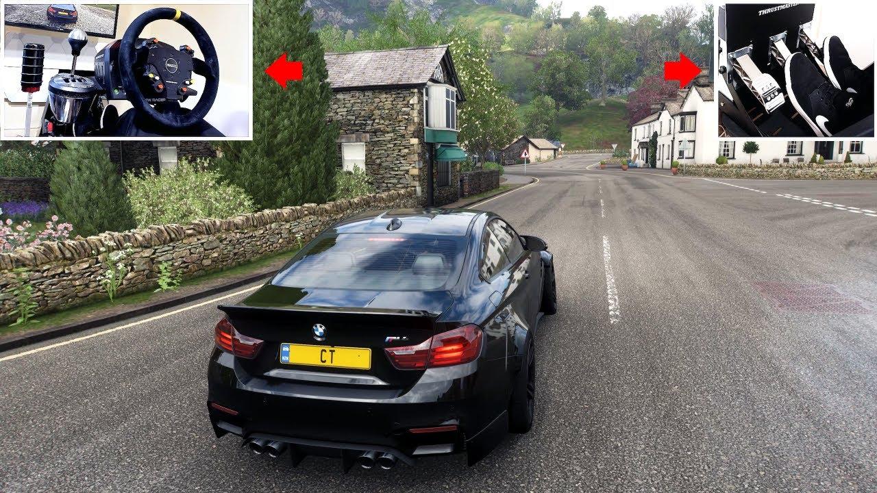 700bhp BMW M4 Drift - (Thrustmaster Steering Wheel Setup) | Forza Horizon 4 Drifting