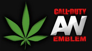 Call Of Duty Advanced Warfare - Cannabis / Weed Leaf - Emblem Tutorial COD AW Screetch2009