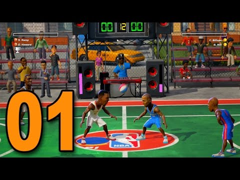NBA Playgrounds - Part 1 - THE NEW NBA STREET?!