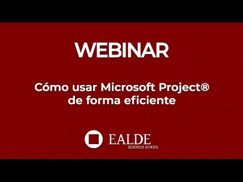 Cómo usar Microsoft Project® de forma eficiente