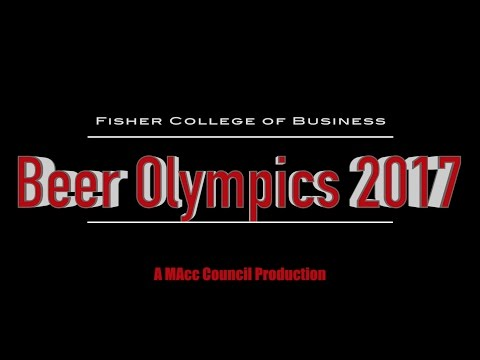 Fisher College of Business Beer Olympics 2017