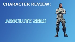 Absolute Zero Outfit Review - Skin Showcase! Fortnite Battle Royale