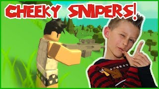 Cheeky Snipers in Roblox Battle Royale!
