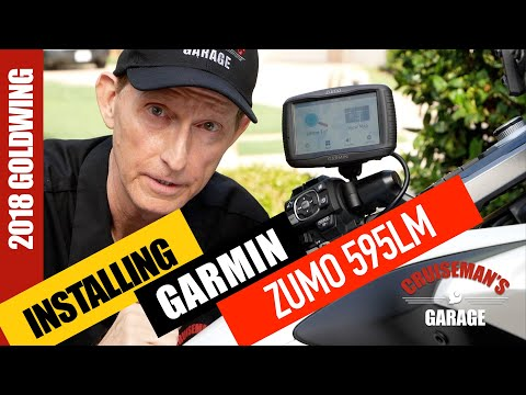 Install Garmin Zumo 595 LM on 2018 Honda Goldwing