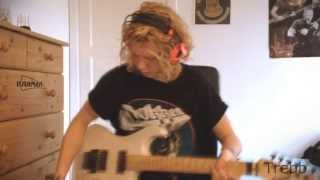 Whitesnake - Bad Boys guitar cover Hello YouTube! 200 subscribers, ...