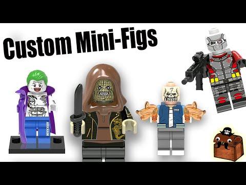 Suicide Squad Movie LEGO Custom Minifigures  Part 2 2016