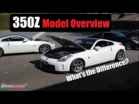 Nissan 350Z Model overview and comparison | AnthonyJ350