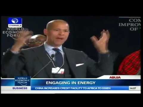 2014 World Economic Forum Africa Plenary: Engaging In Energy