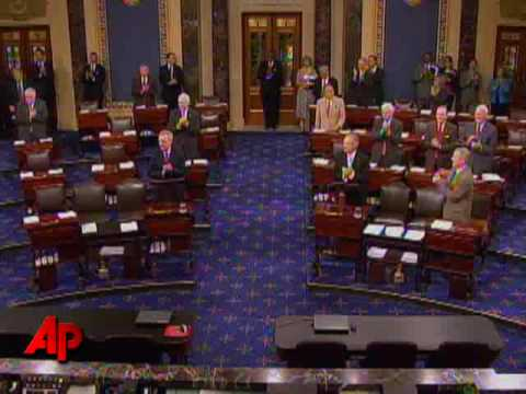 Raw Video: Franken Sworn in As Minn. Senator