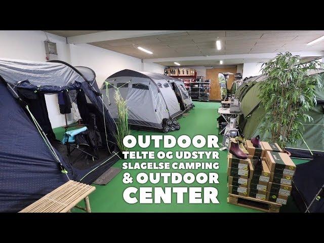 Outdoor, fiskeri, jagtudstyr, tøj og telte hos Slagelse Camping & Outdoor Center