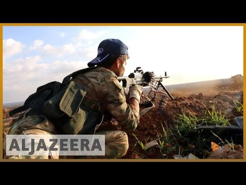 Fierce clashes erupt between Syrian army, Turkish-led forces